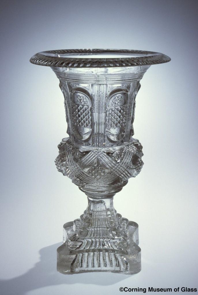 Vase Compagnie des Verreries et Cristalleries de Baccarat France about 1889-1898